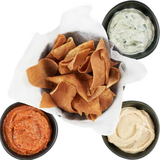 Spread Sampler w/ Pita Chips